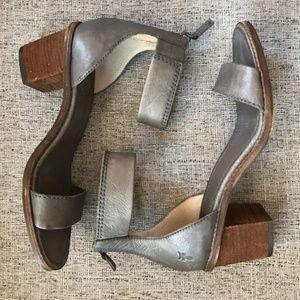 Frye Brielle Back-Zip Sandal